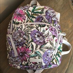 Vera Bradley Small Back Pack and ID card holder